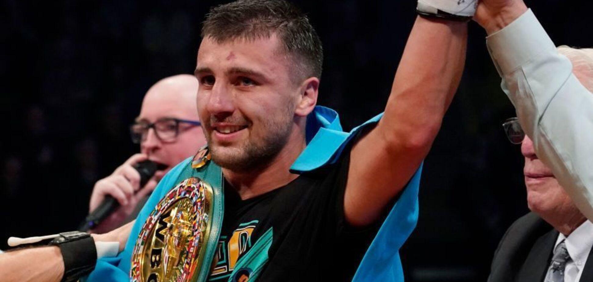 ''Не того масштабу'': Гвоздик поставив на місце боксера з Росії