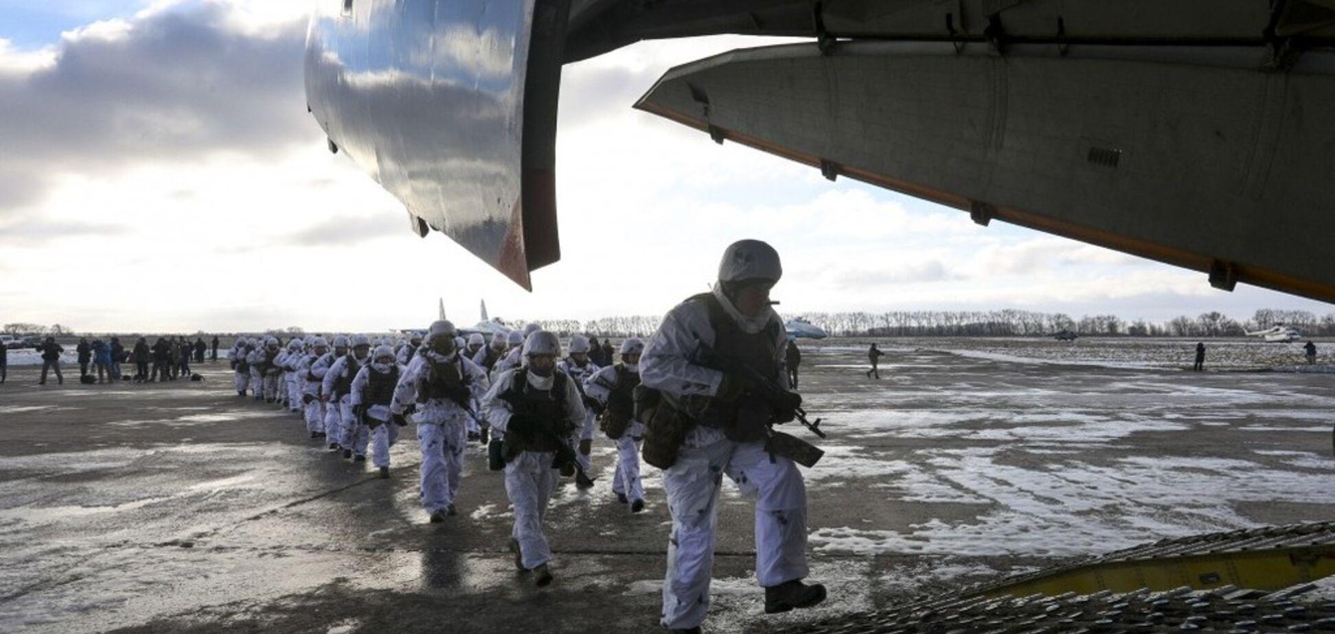 Україна терміново направила штурмові підрозділи на кордон із Росією