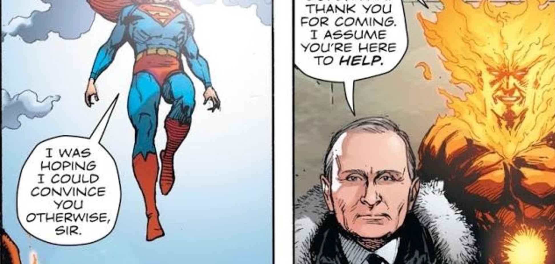 Вибух у Кремлі і сутичка з Путіним: у США випустили комікс про війну з Росією