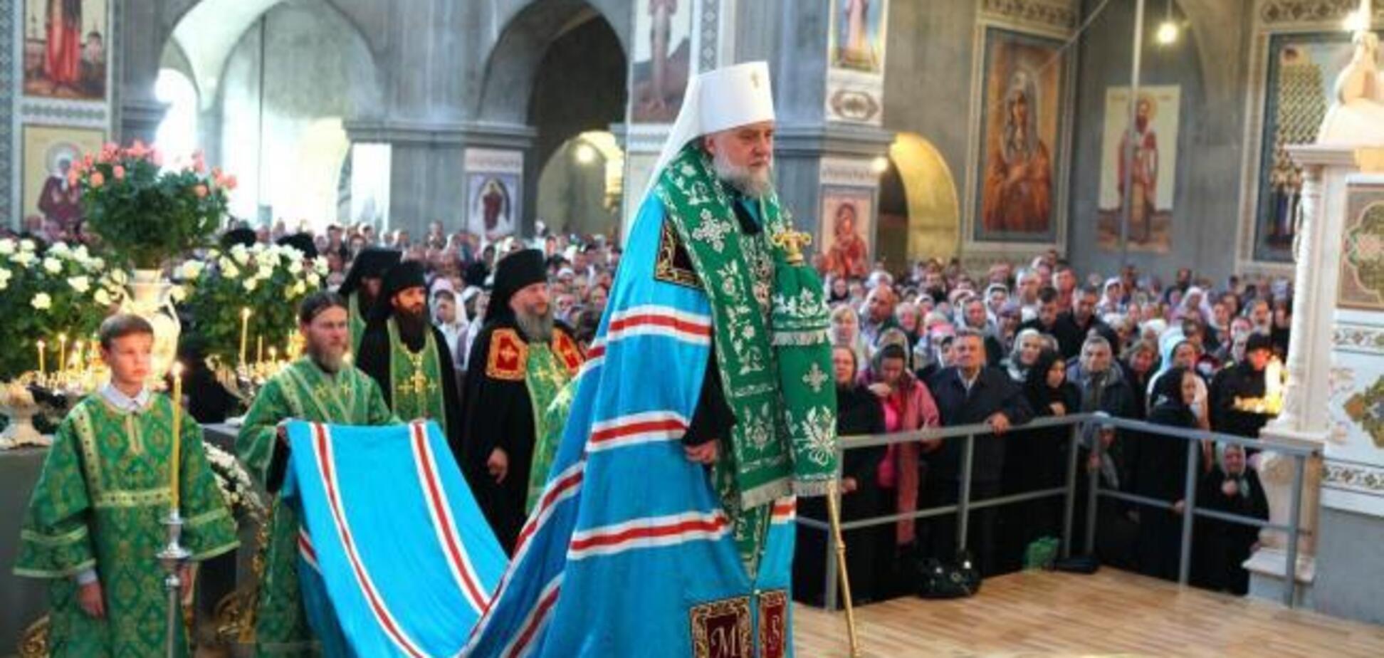 ''Прошу вас!'' Митрополит УПЦ МП написав листа Порошенку