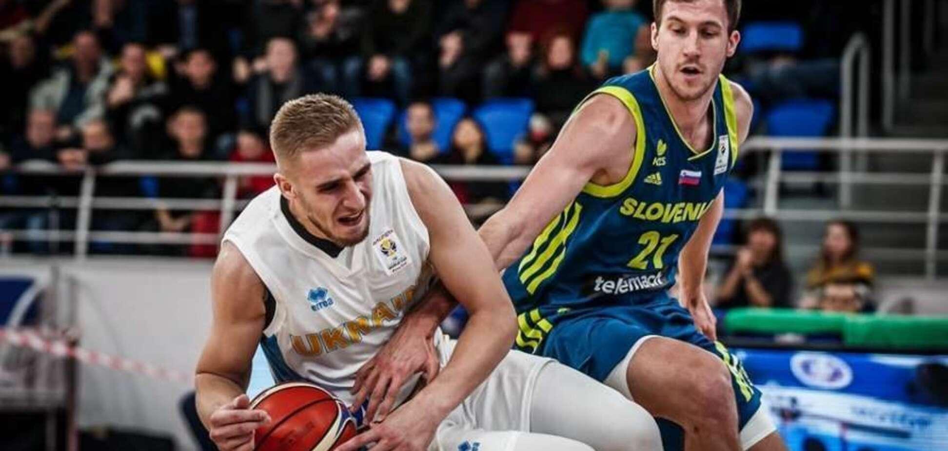 Баскетболисту сборной Украины поставили неутешительный диагноз