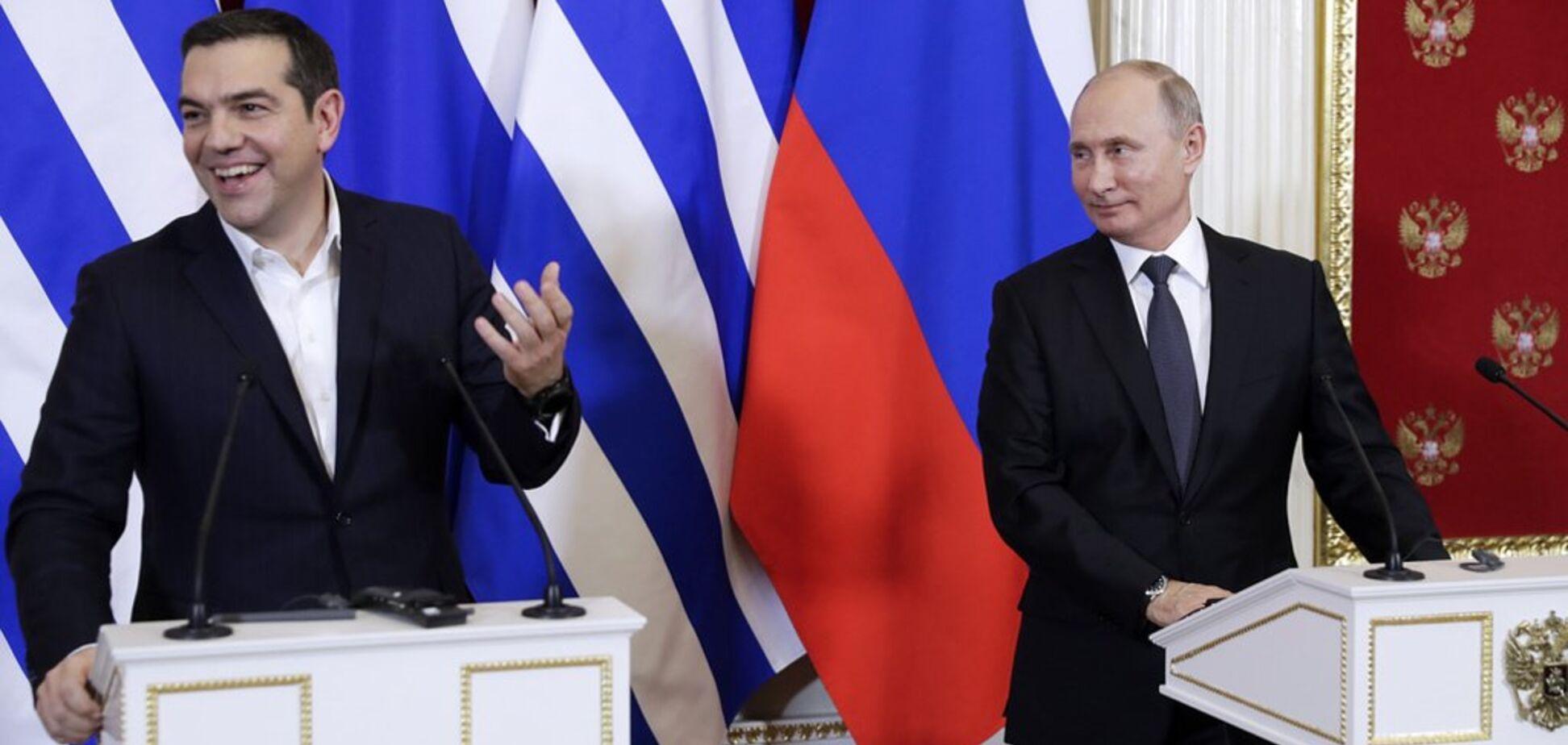 ''Грайливий мазохізм'': у мережі помітили дивне звернення до Путіна прем'єра Греції
