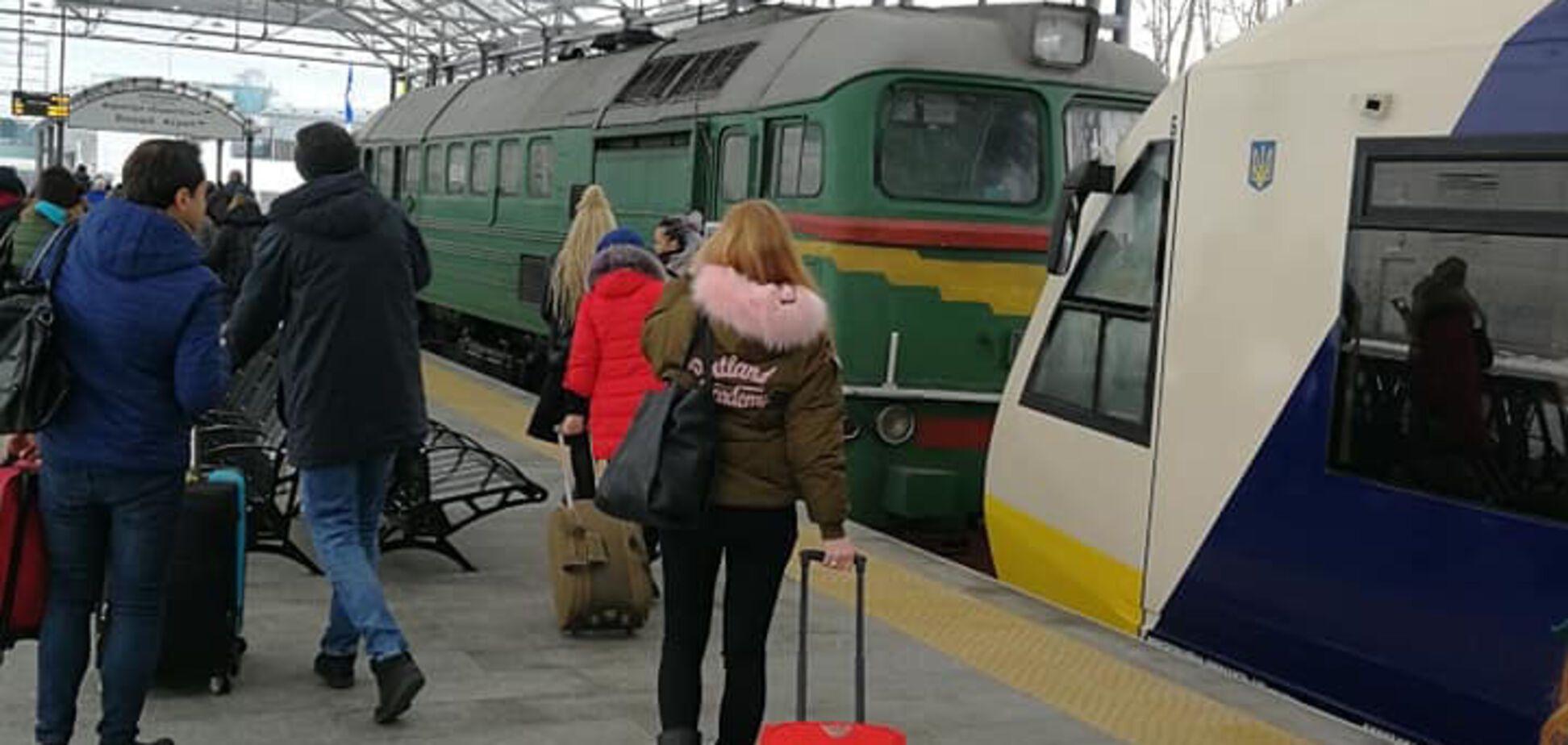 ''Стыд и позор'': в Киеве произошло новое ЧП с экспрессом в ''Борисполь''
