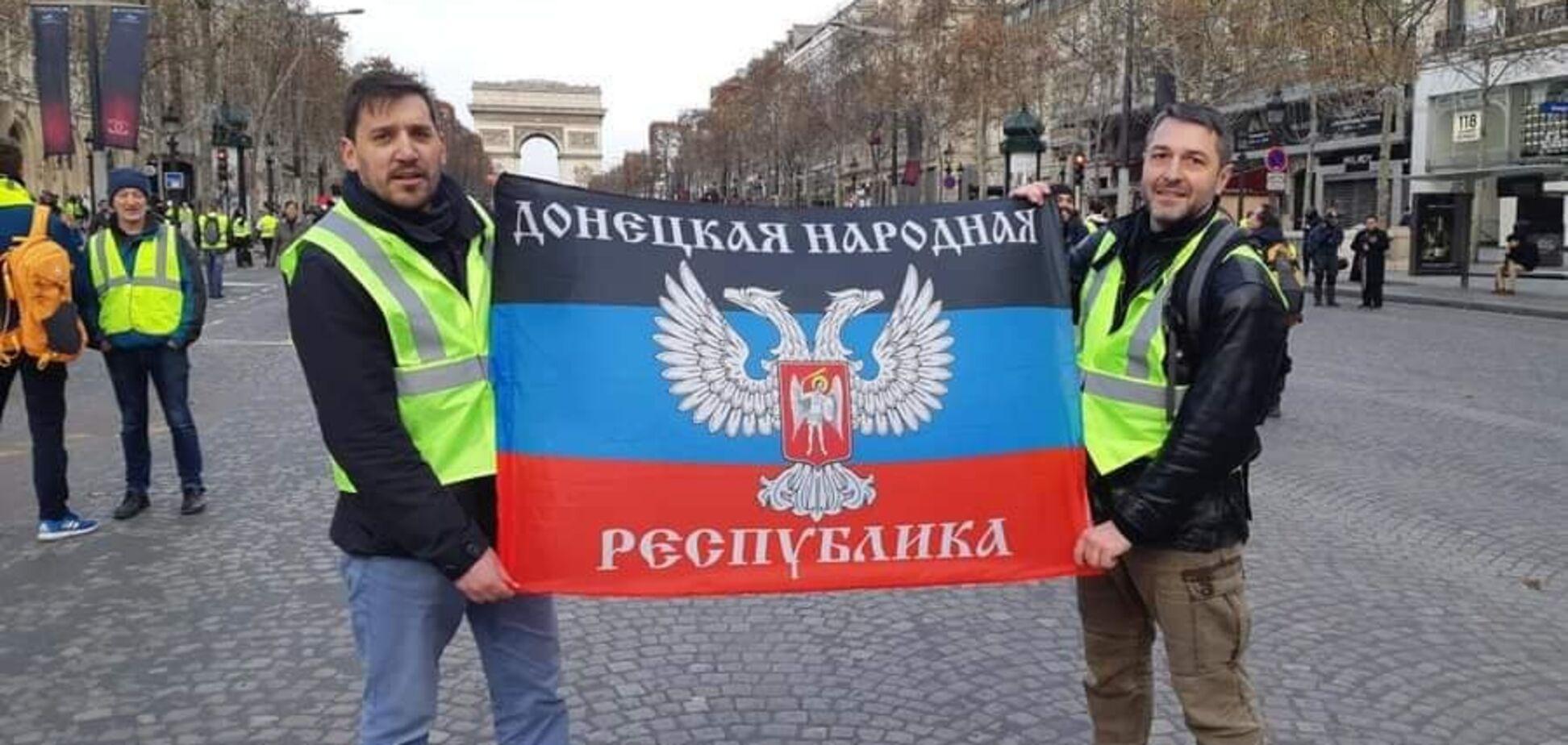 Прапор ''ДНР'' і російський мат: в протестах у Франції знайшли ''вуха Кремля''