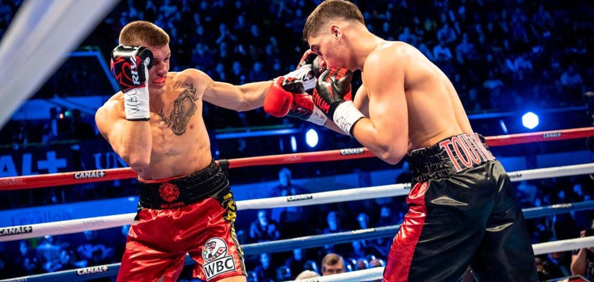 Український боксер нокаутував непереможного суперника і сенсаційно став чемпіоном світу