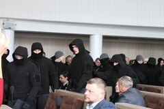 'Кровавая сессия' в Черкассах: стало известно, кем были люди в масках