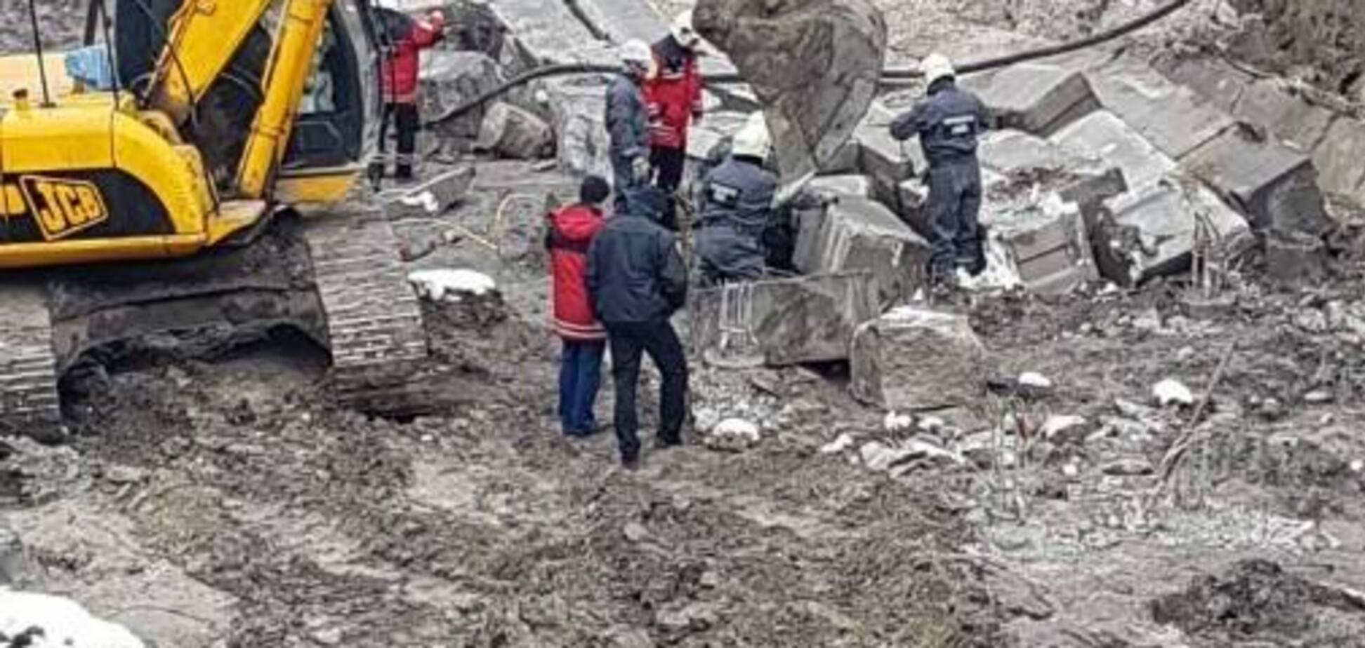 Обвал Київ будівництво