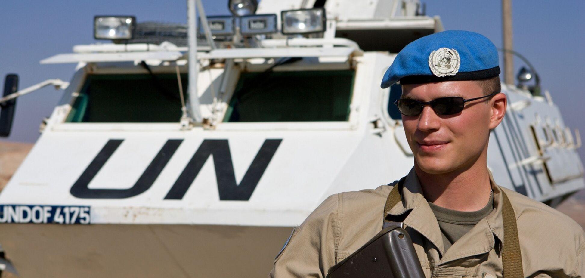 Война на Донбассе: в ООН озвучили необходимое число миротворцев