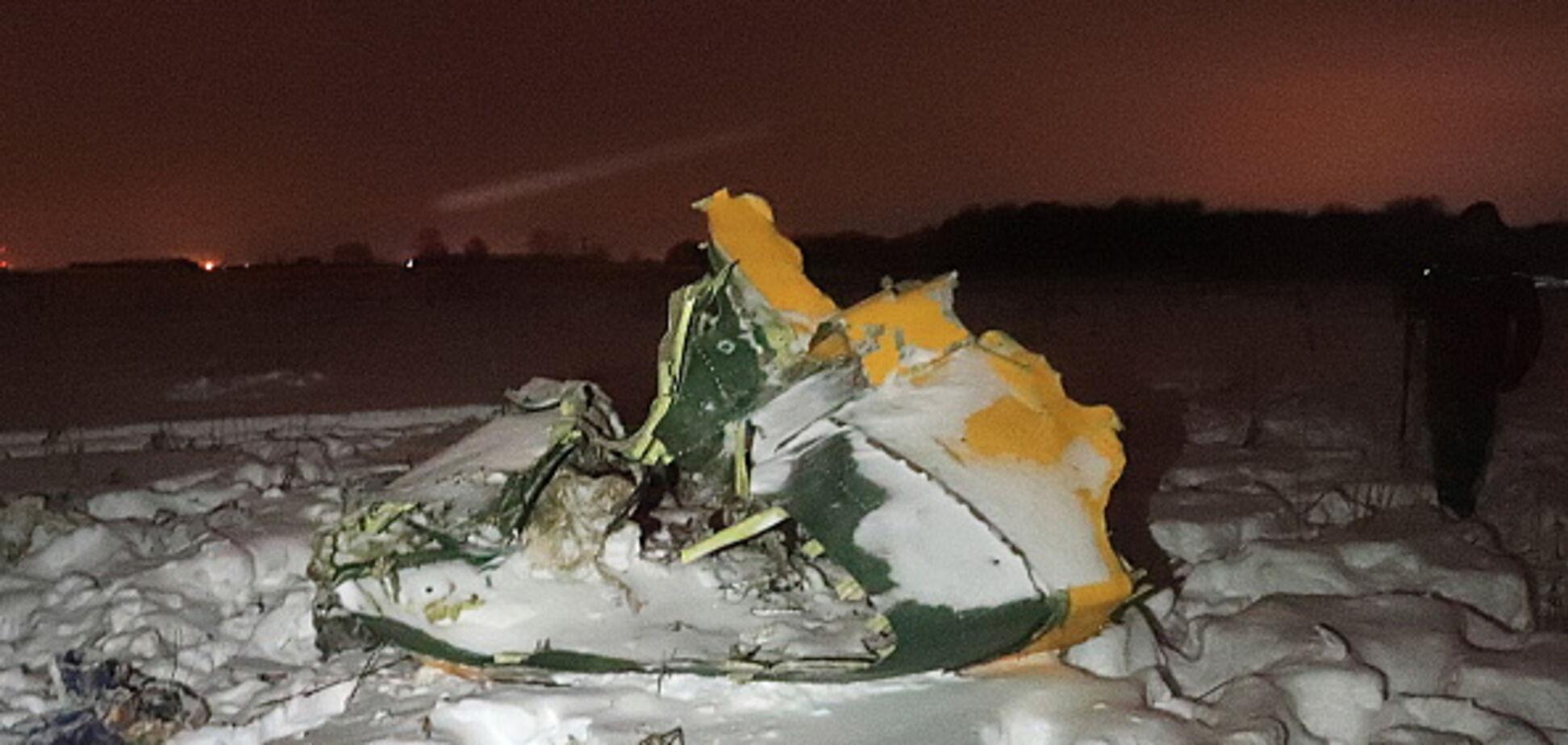 Гибель Ан-148: лайнер взорвался на земле