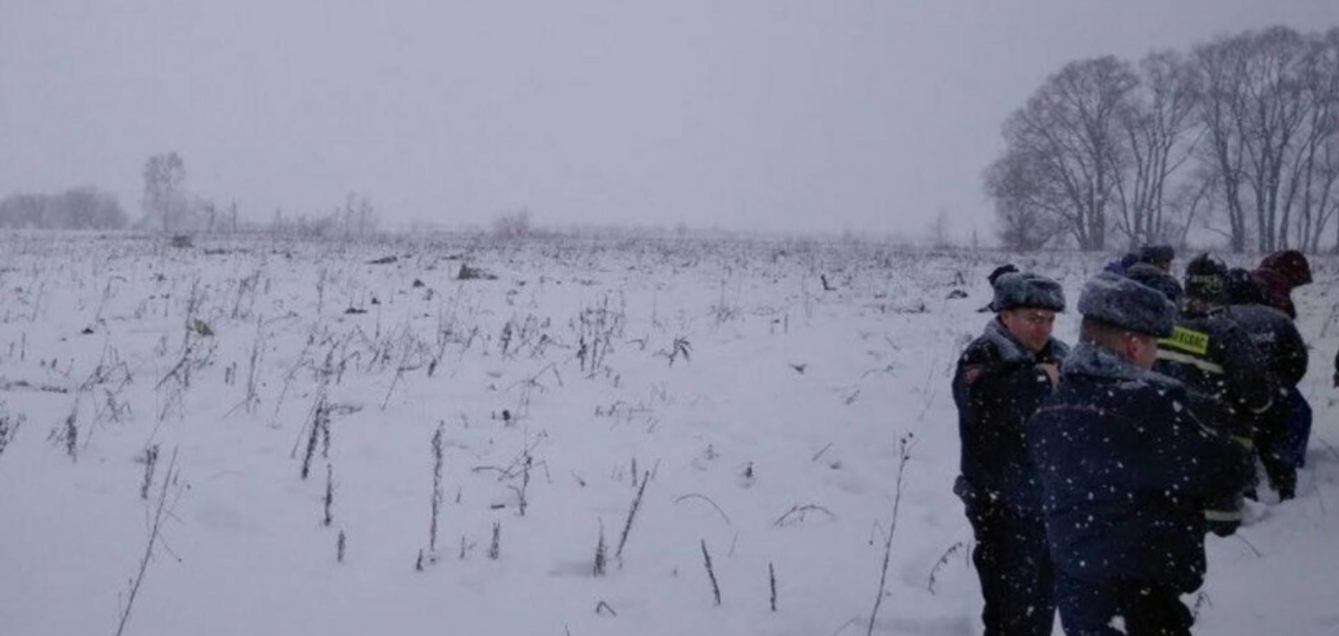 Крушение Ан-148 в России