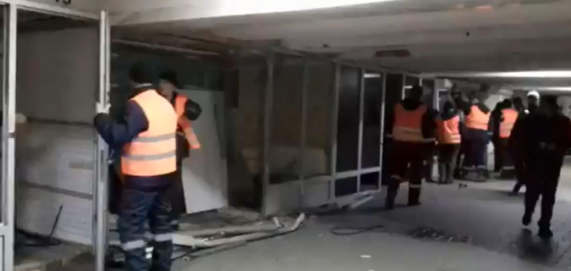 Київ без МАФів: 'зачистка' Майдану потрапила на відео