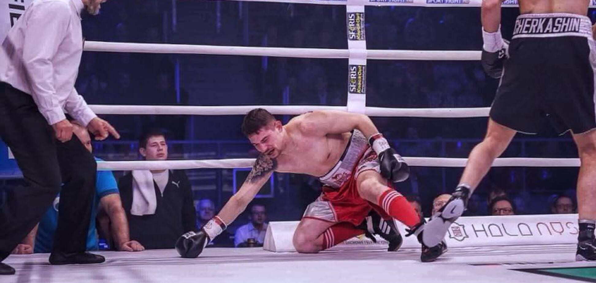 Непобедимый украинский боксер добыл победу нокаутом в первом раунде