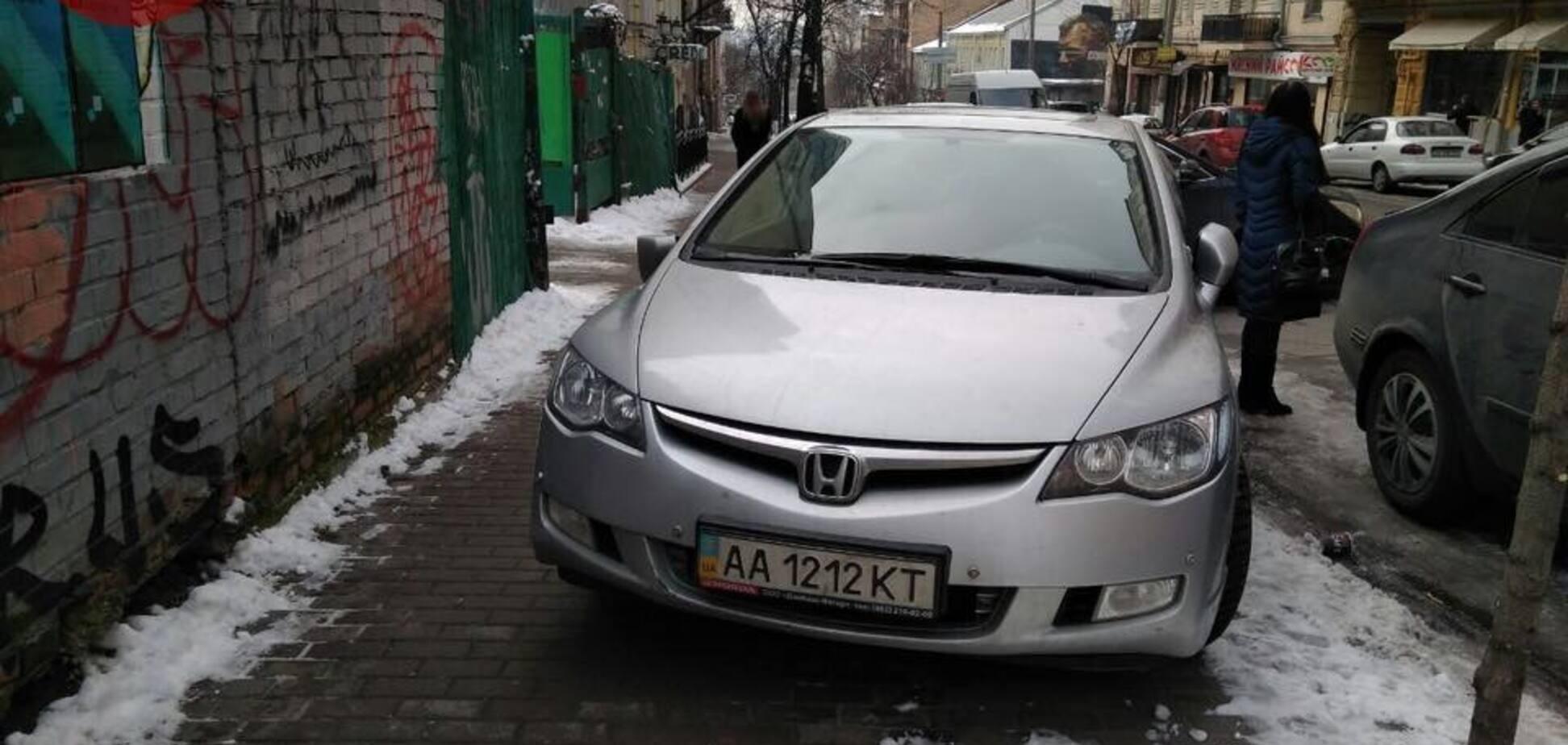 'Вызов принят!' В Киеве жестоко расправились с героем парковки