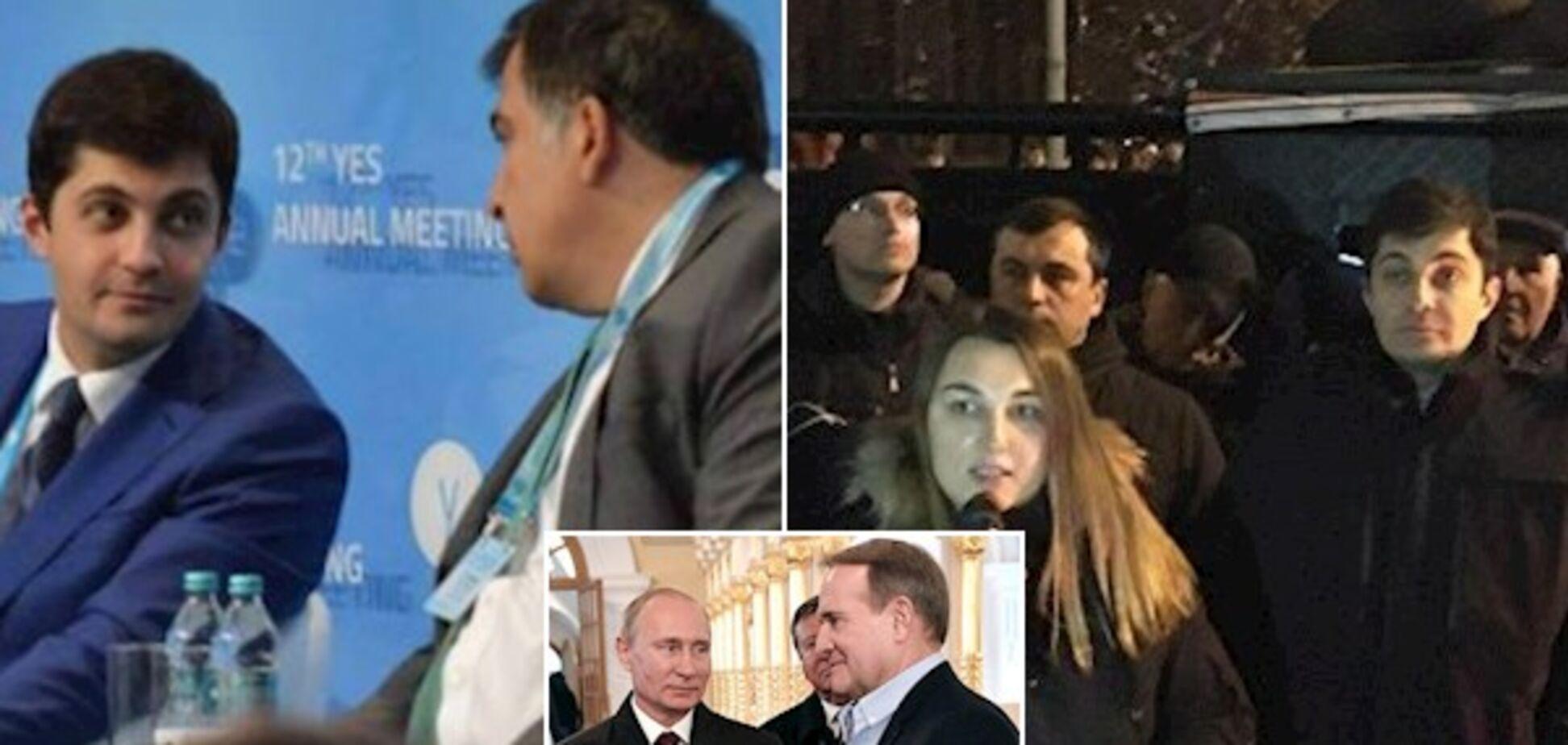 Блогер присоромив соратника Саакашвілі кумом Путіна