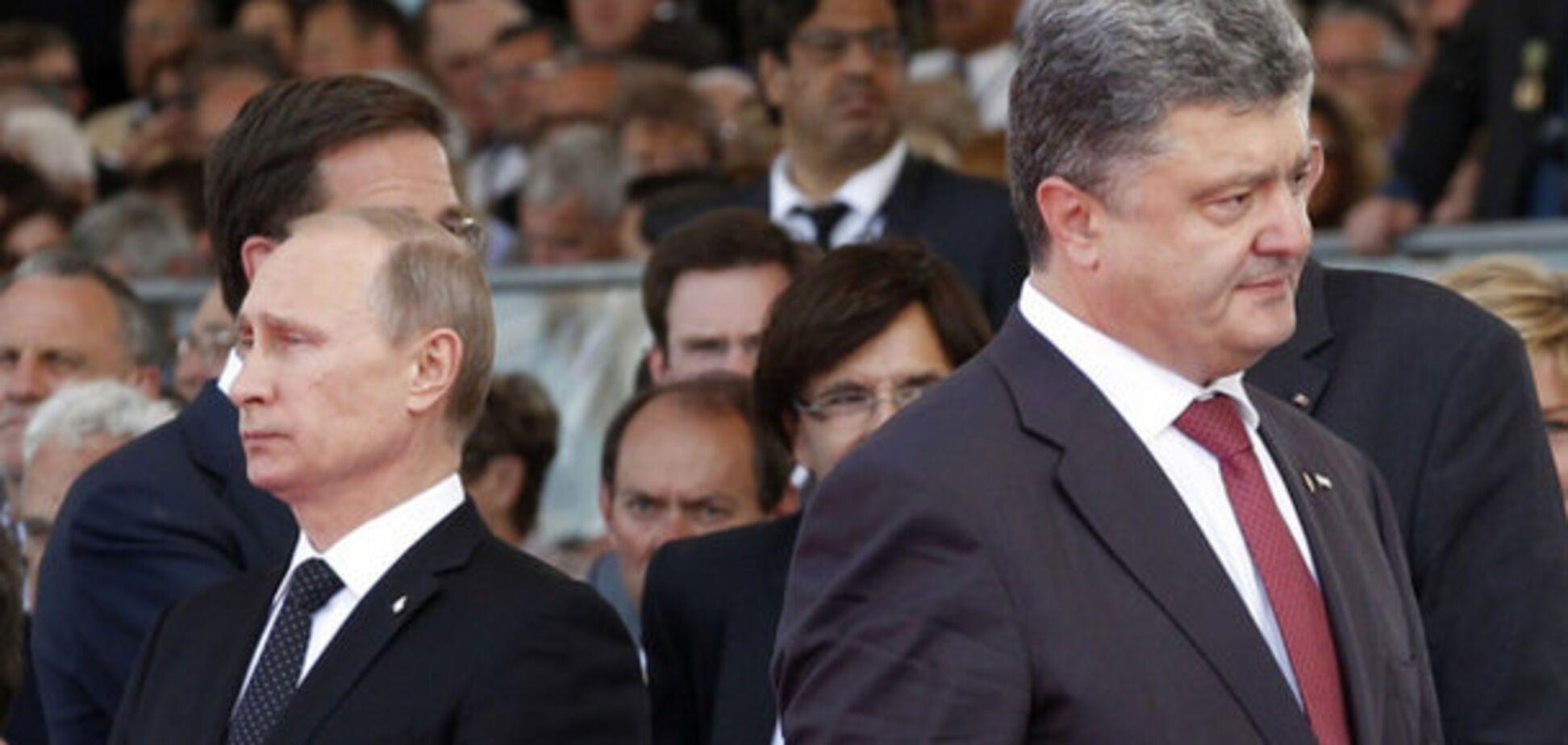 Таємні переговори Порошенка і Путіна: в Кремлі розповіли свою версію