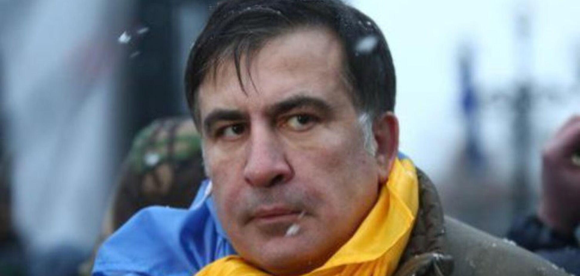 Тянули за волосы: появилось полное видео задержания Саакашвили