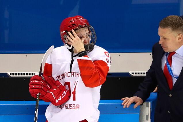 Сборная России по хоккею опозорилась на Олимпиаде во втором матче подряд
