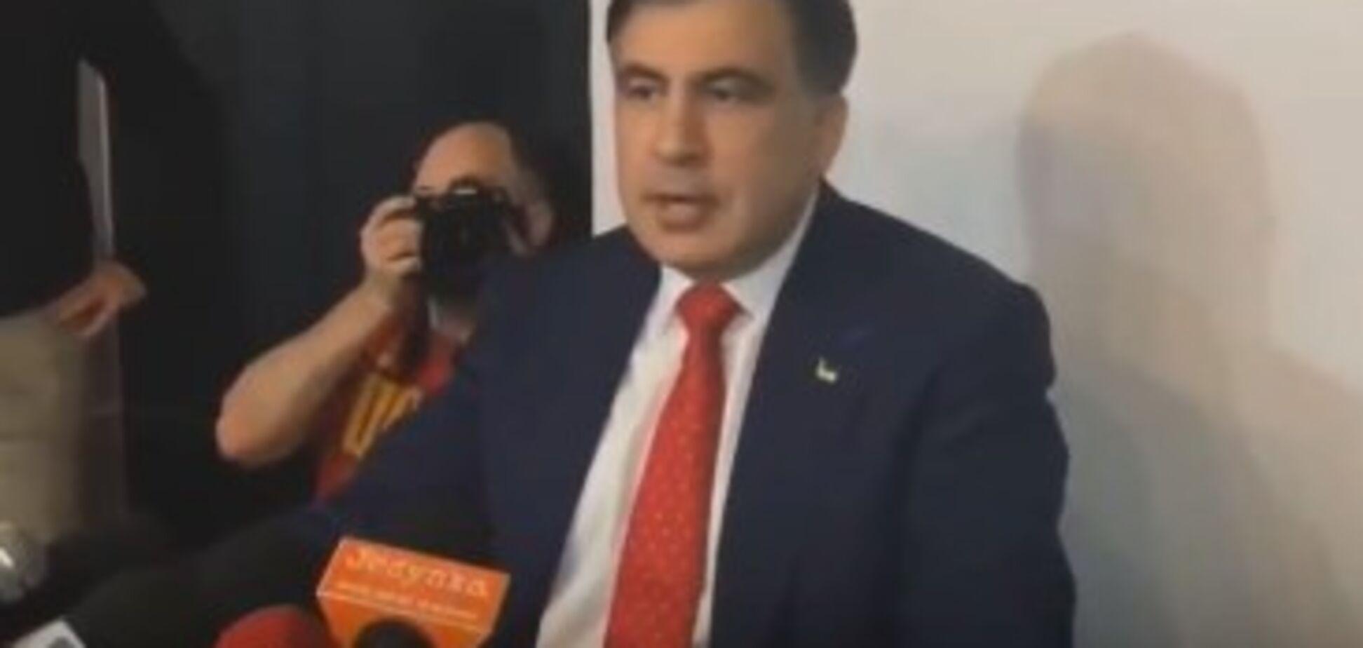 'Все время наблюдал': Саакашвили рассказал, с кем летел в Польшу