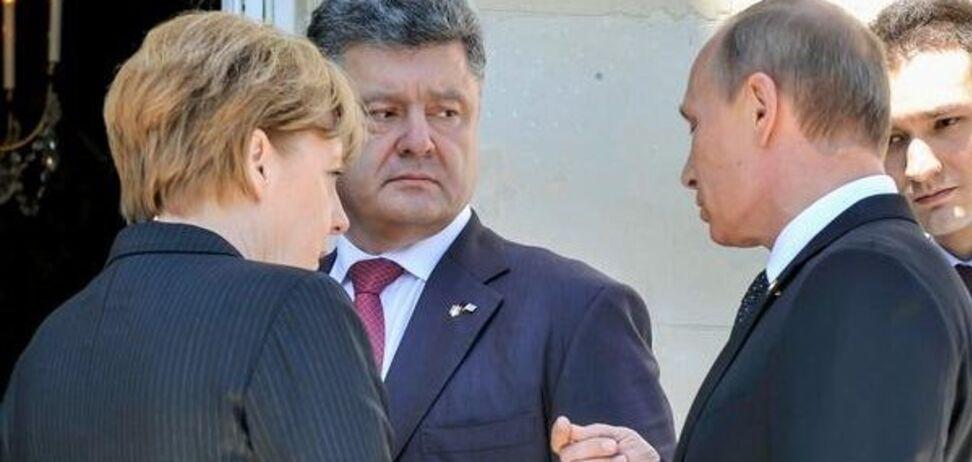 Порошенко и Путин