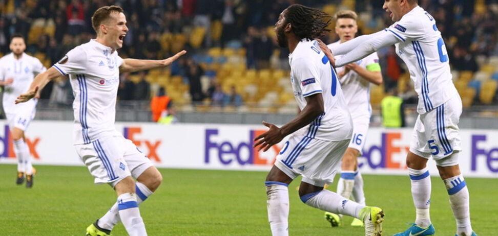 Идет второй тайм! АЕК - Динамо: онлайн-трансляция матча 1/16 финала Лиги Европы