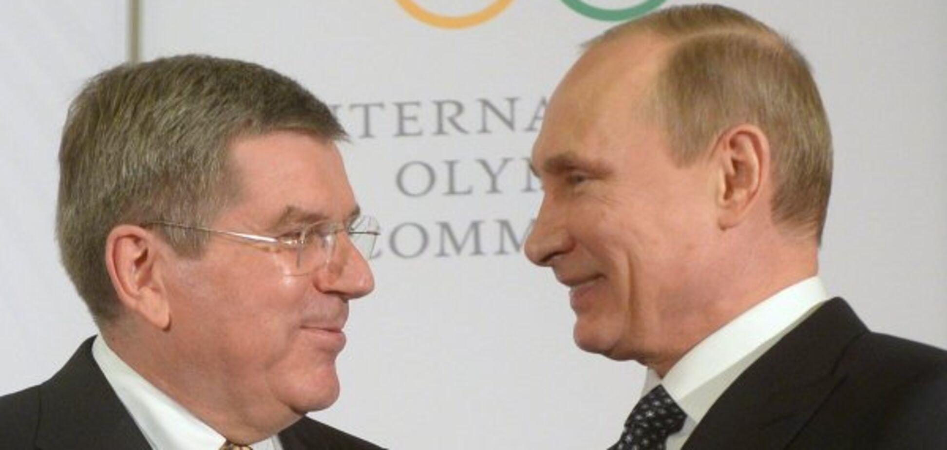 'Все одно свиня': на Олімпіаді пропісочили Росію через Путіна
