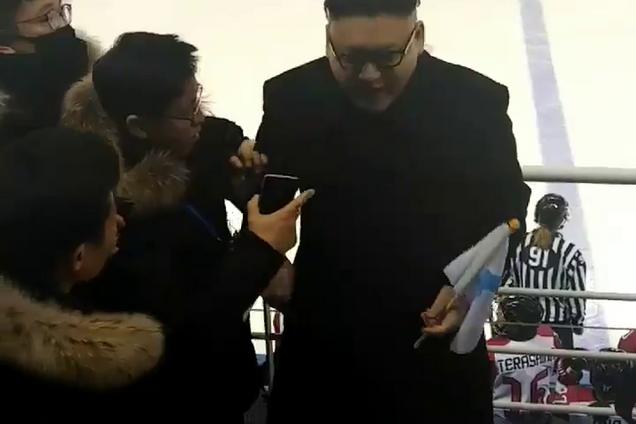 Танцующий Ким Чен Ын напугал северокорейских болельщиц на Олимпиаде: опубликовано видео