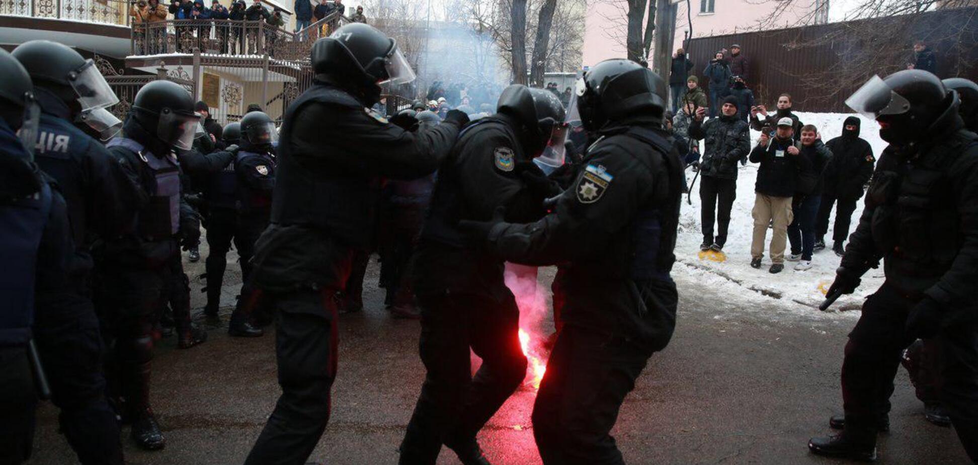 Стрельба возле суда в Киеве: появились свежие фото и видео