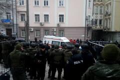 В Киеве ранили полицейского: эксклюзивные подробности