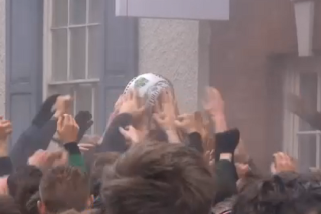 У Британії зіграли незвичний футбол перед постом