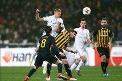 'Динамо' сыграло вничью в первом матче 1/16 финала Лиги Европы