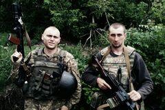 Расстрел морпехов на Донбассе: появились фото и имена погибших