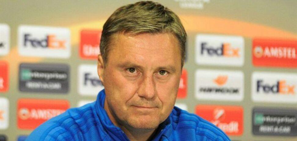 Лига Европы: Хацкевич объяснил, чего не хватило 'Динамо' для победы над АЕКом
