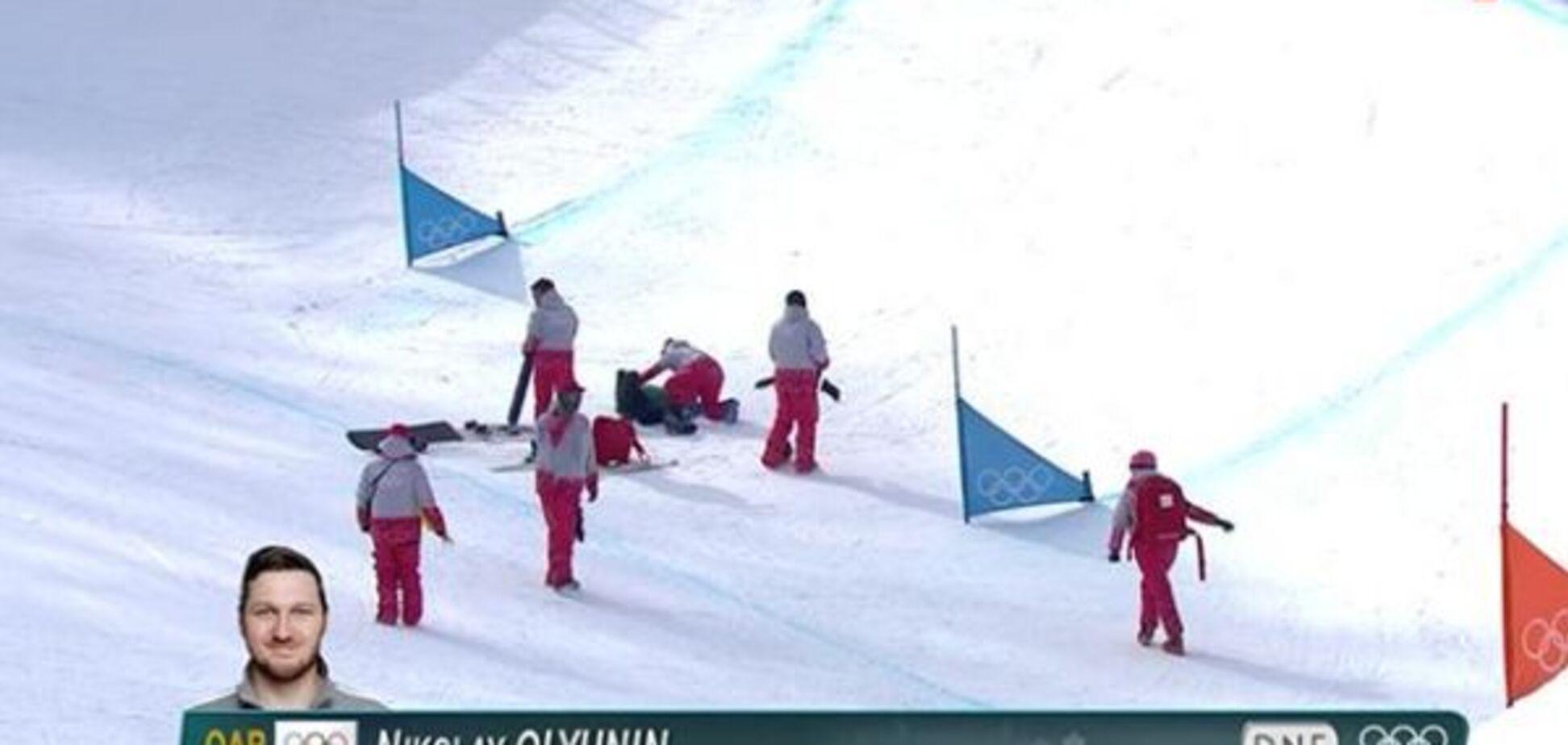 Разрыв и перелом: российский олимпиец получил тяжелейшую травму на Играх в Пхенчхане