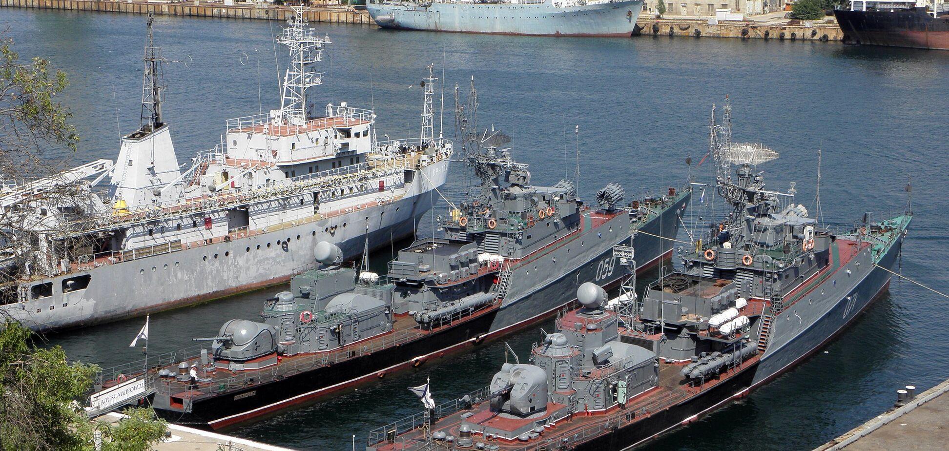 Корабли Украины в Крыму назвали 'хламом': как на самом деле