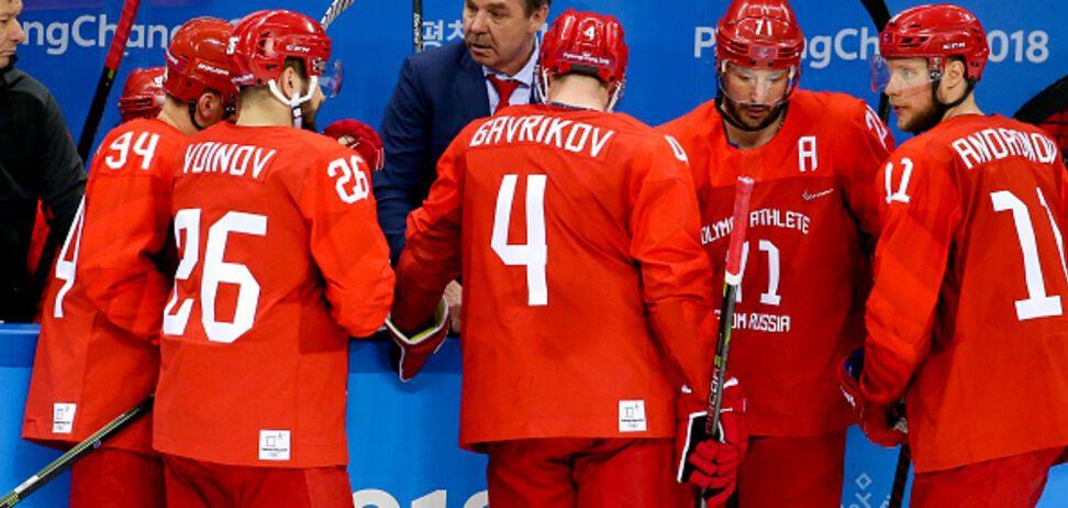 Сборной России на Олимпиаде запретили рукопожатия с командой США