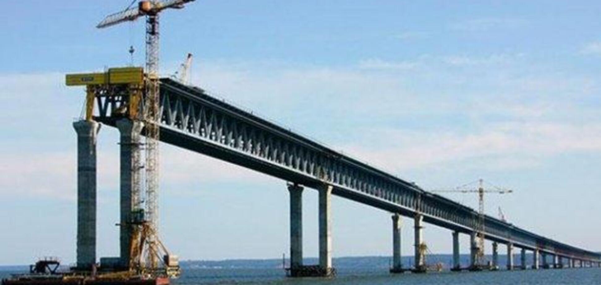 Строительство Керченского моста: стало известно о новом ущербе для Украины