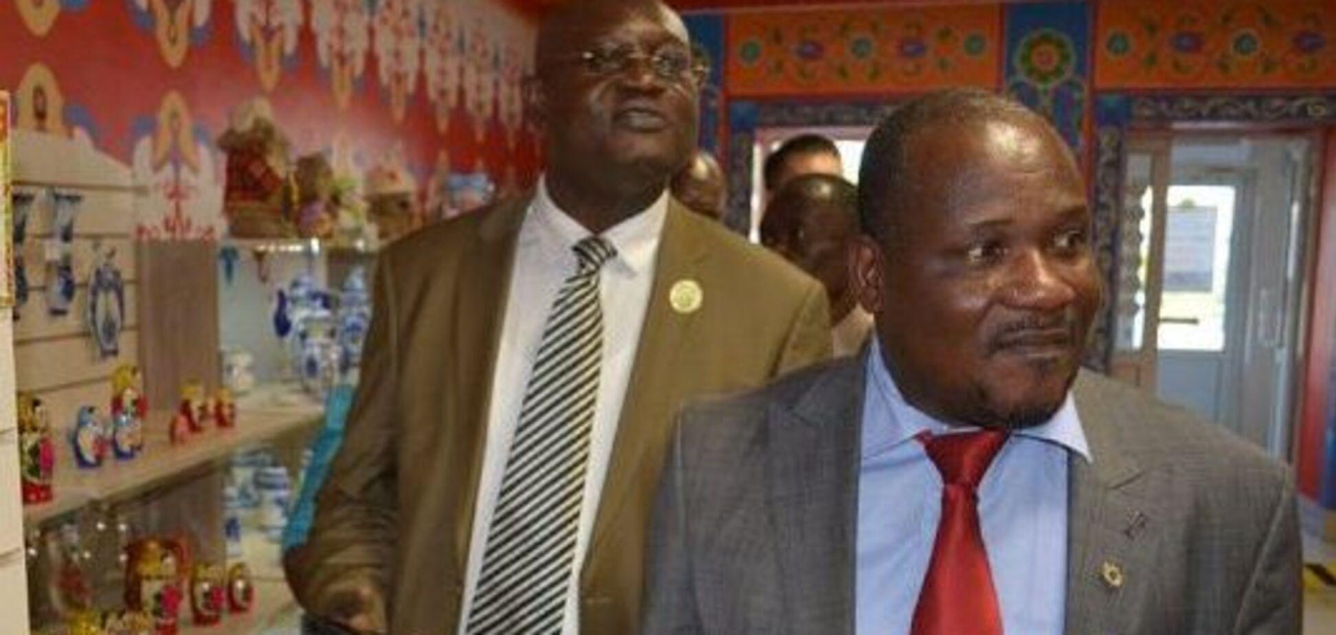 Делегація із Беніну