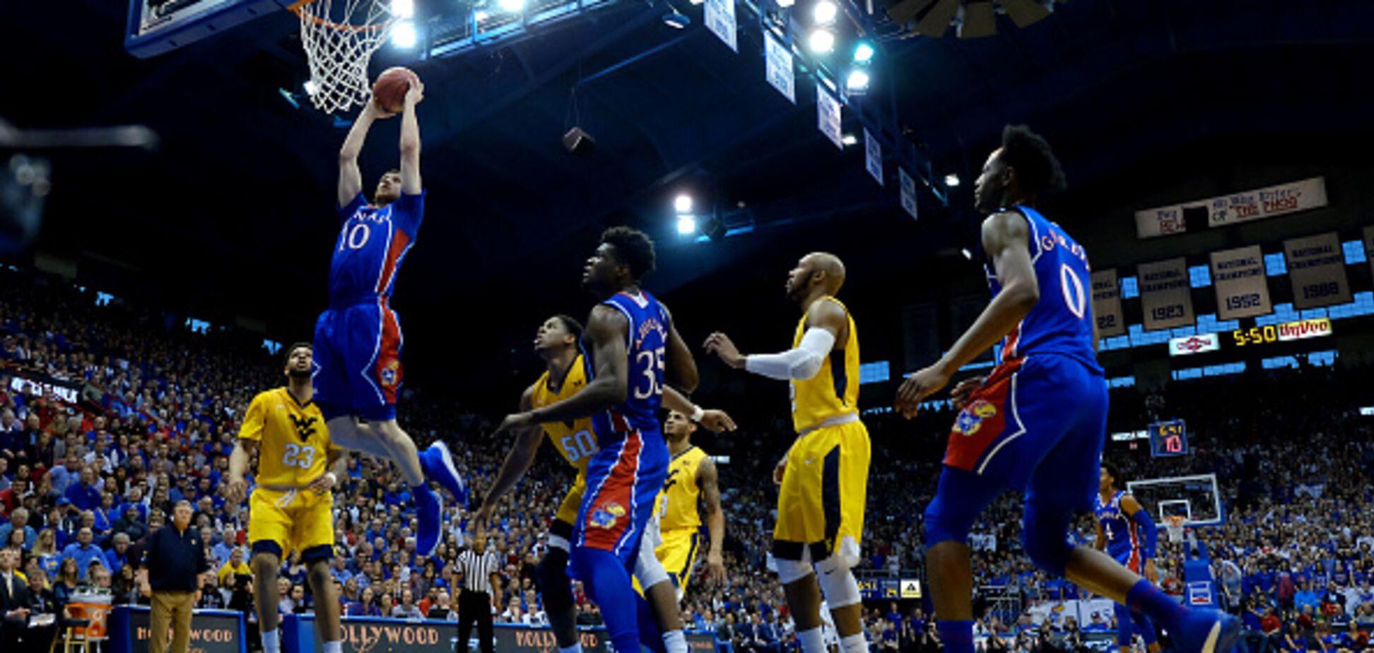 Защитник сборной Украины помог своей команде одержать тяжелую победу в NCAA