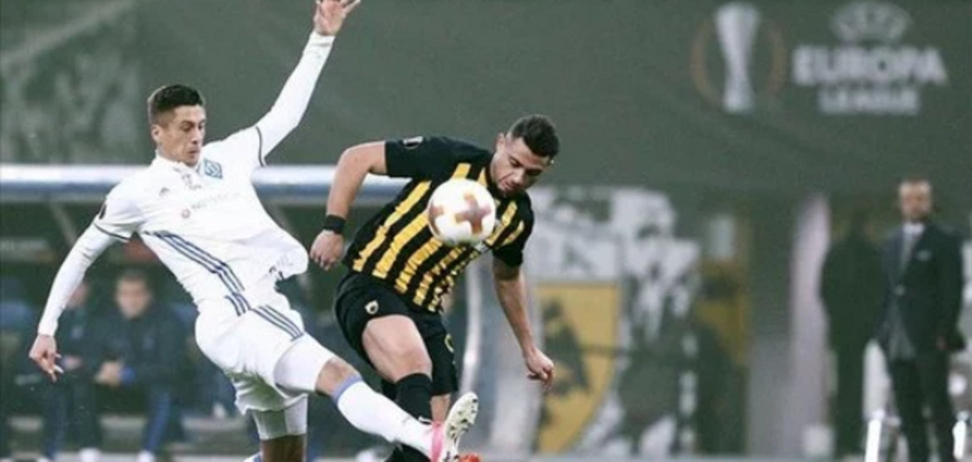 Динамо - АЕК: прогноз букмекеров на ответный матч 1/16 финала Лиги Европы