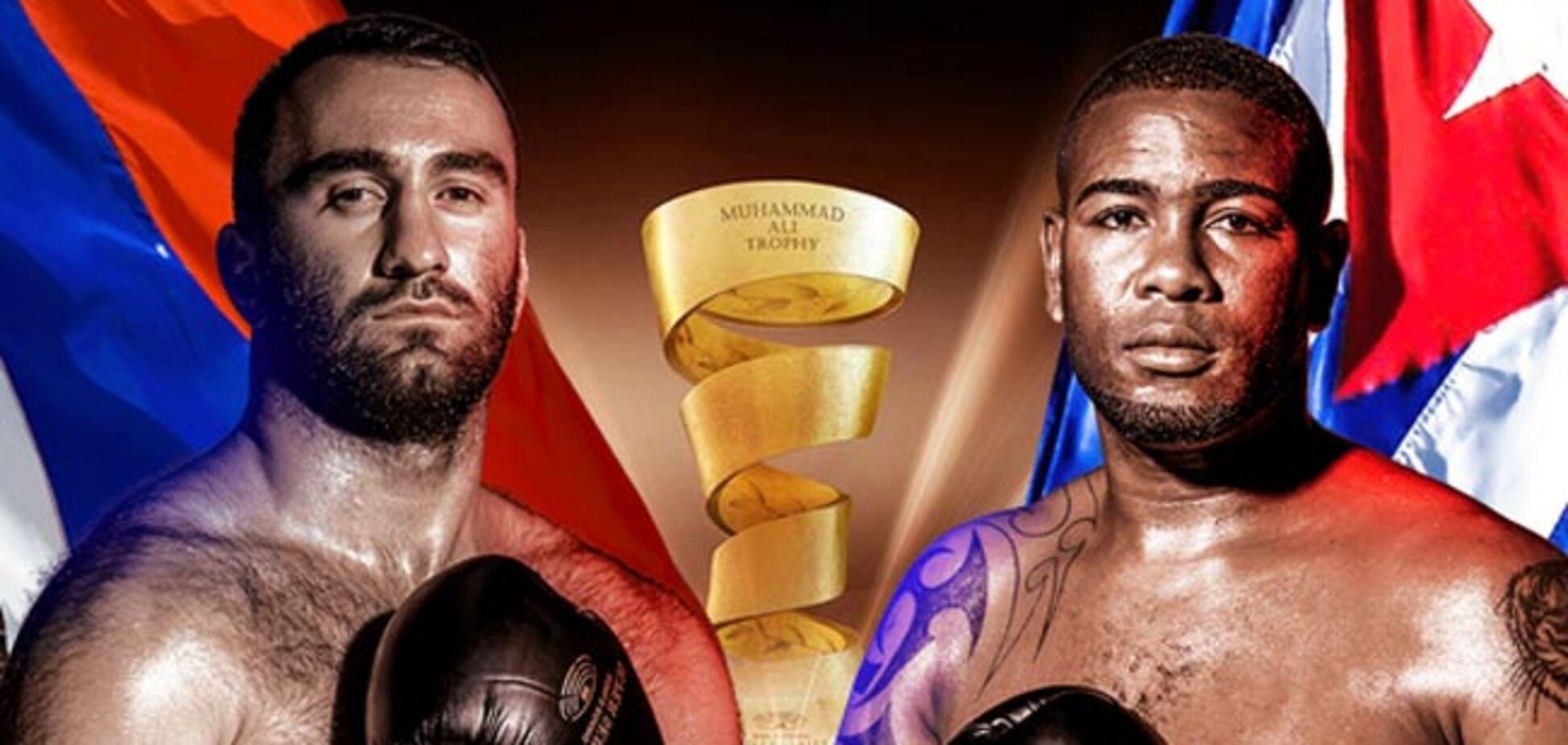 Гассієв - Дортікос: онлайн-трансляція бою півфіналу Всесвітньої боксерської суперсерії