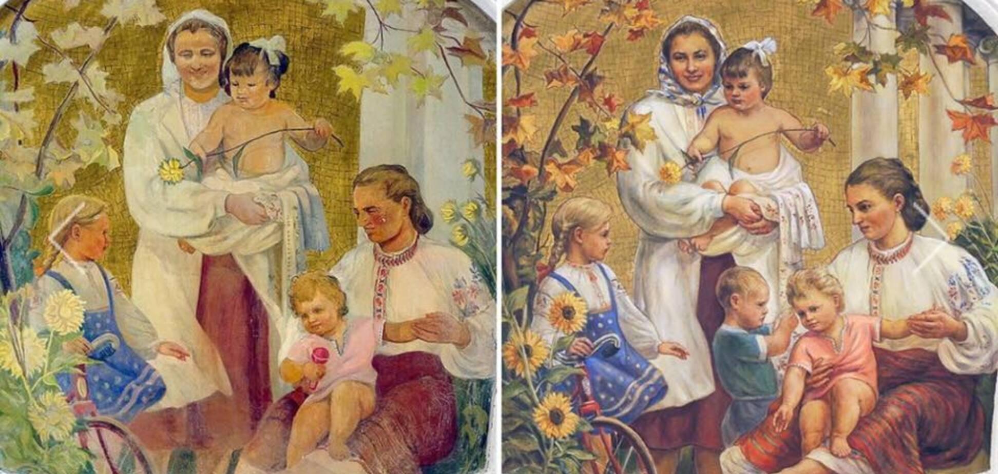 'Путін в дитинстві?' У московському метро знайшли ще одну дивну фреску