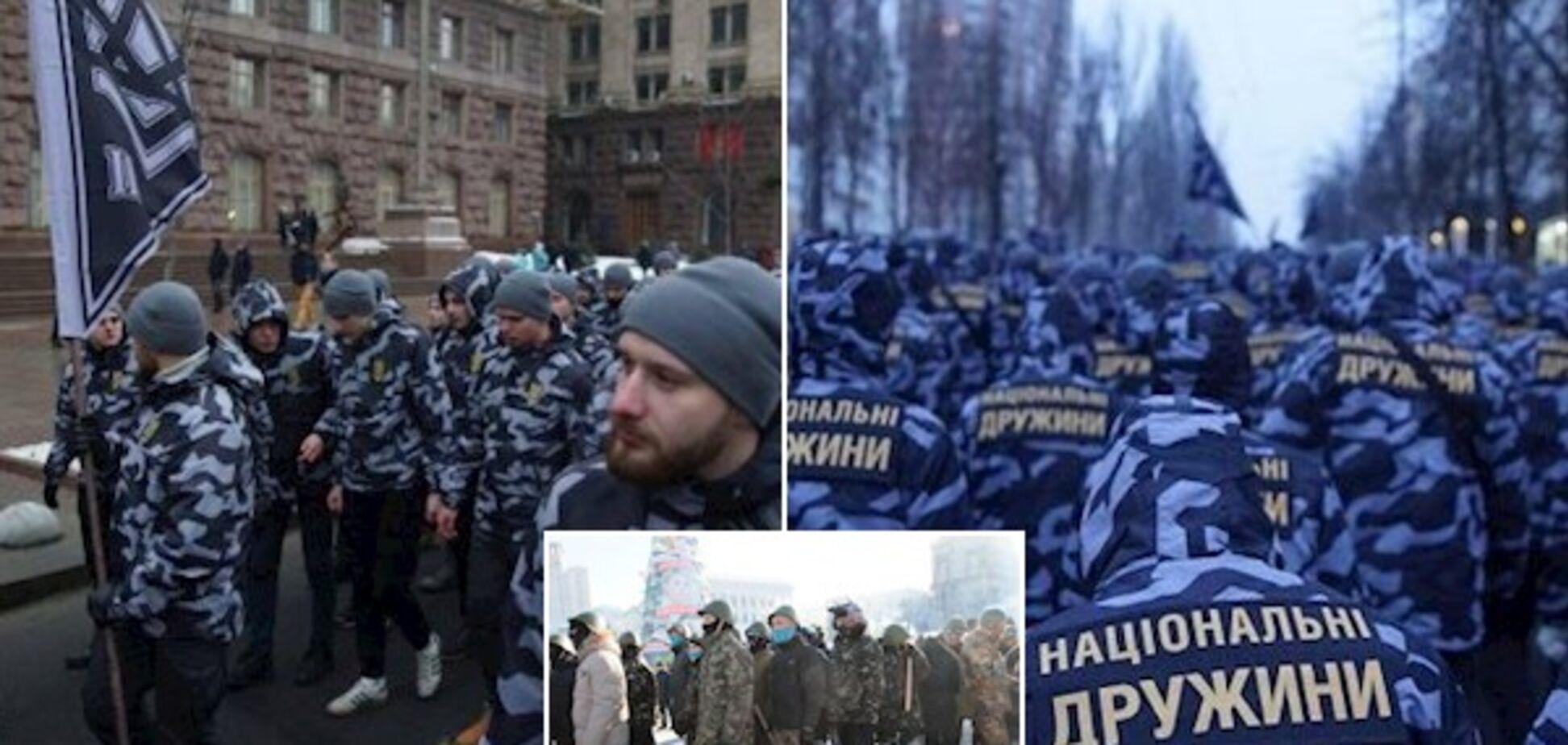 Як член з пальцем: 'Національні дружини' закликали не порівнювати з самообороною Майдану