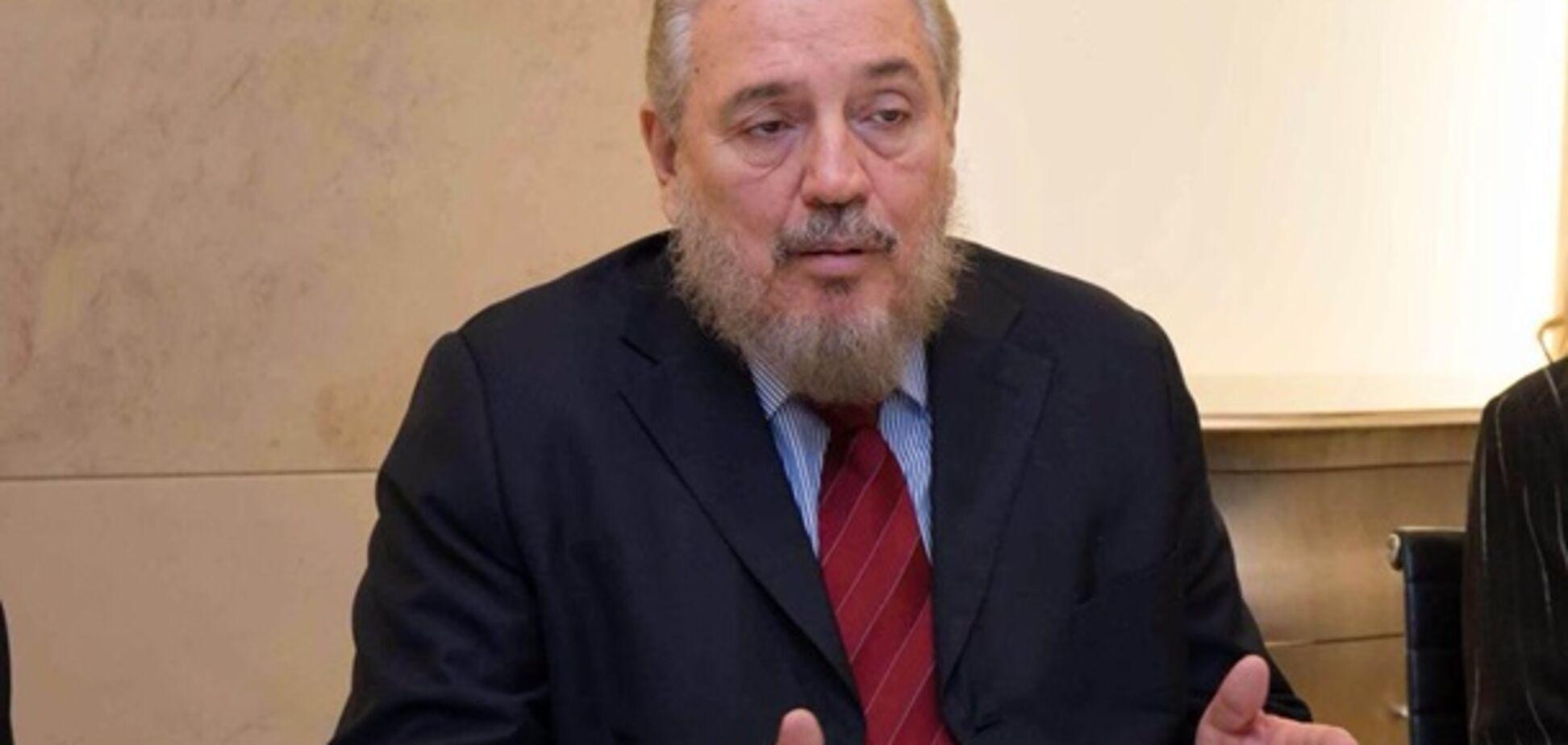 Син Фіделя Кастро