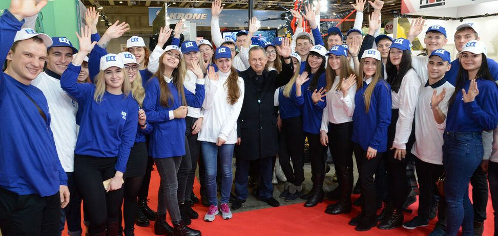'Это как небо и земля!' Лучшие студенты Украины посетили старейшую выставку Европы