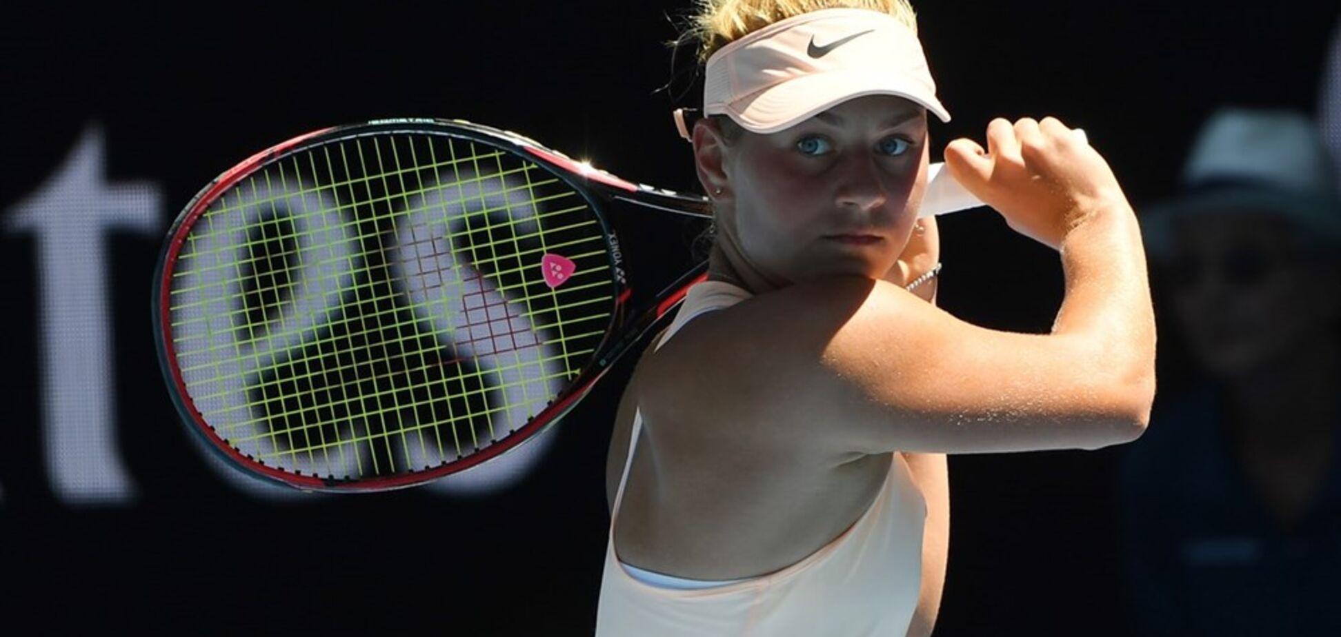 Браво! 15-летняя украинка вышла в финал теннисного турнира в Австралии