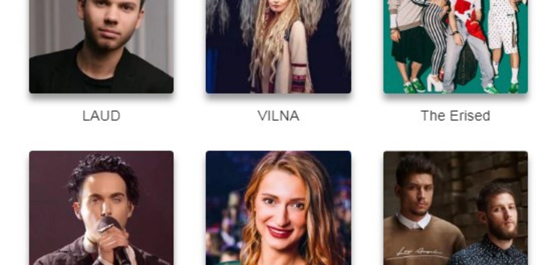 Кто представит Украину на 'Евровидении-2018': результаты голосования
