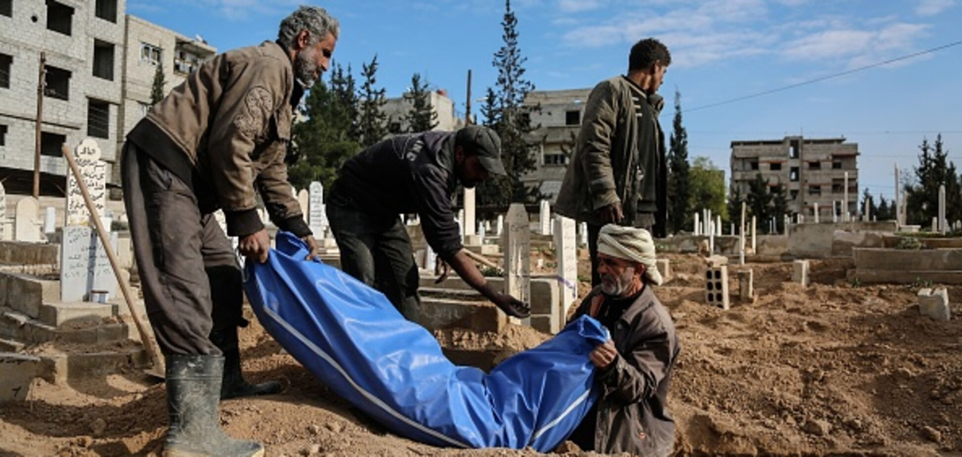 'Пекло на землі': біля столиці Сирії за 5 днів загинуло до 400 осіб
