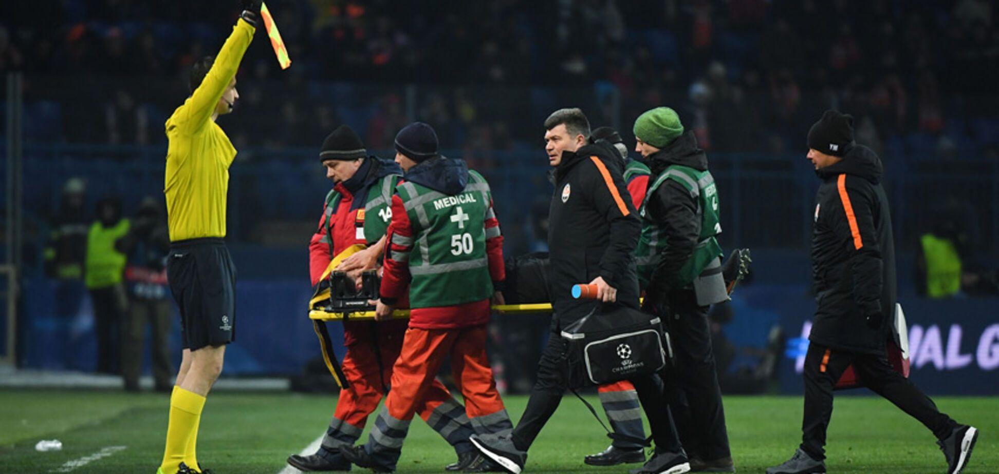 Футболіст збірної України отримав важку травму в матчі Ліги чемпіонів: з'явилися подробиці