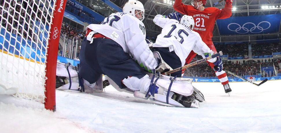 Дополнительные 20 минут! Россия – Германия: смотреть онлайн финал хоккея на Олимпиаде-2018
