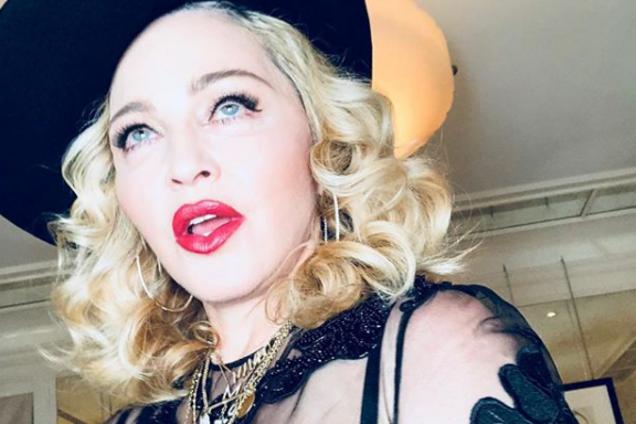 Появилось провокационное фото Мадонны на унитазе